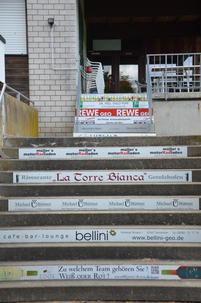 Sponsoren-Treppe